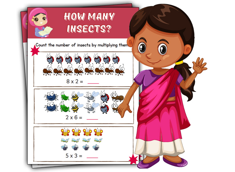 how many insects