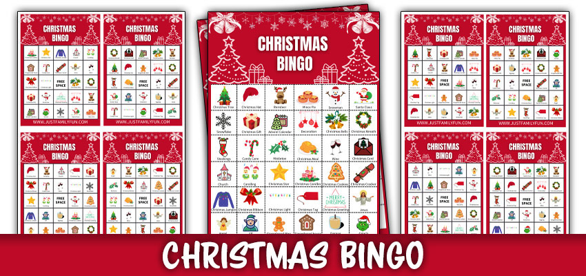 Christmas Printable Bingo Game