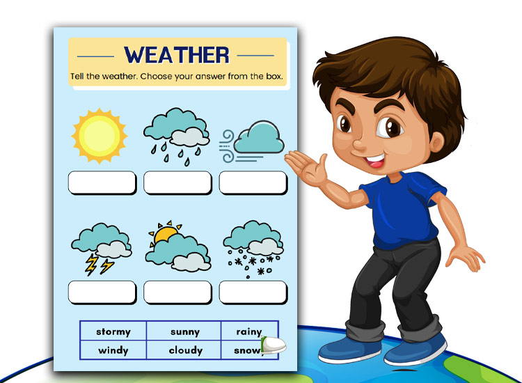 weather worksheet for kids