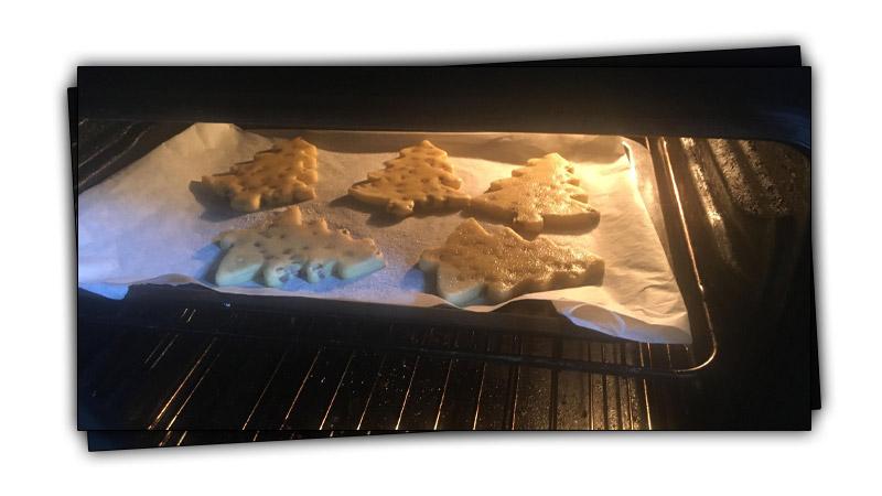 shortbread oven