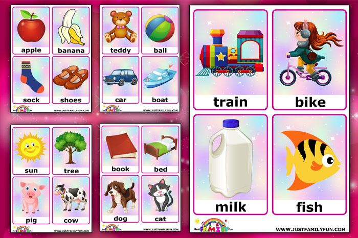 First-Word Flashcards