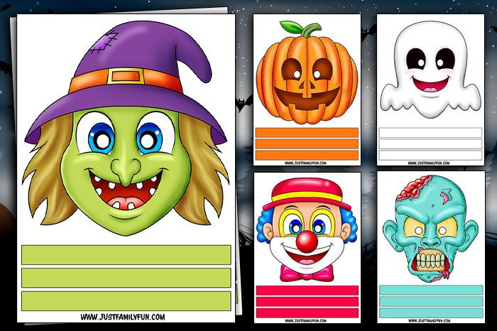 halloween paper mask