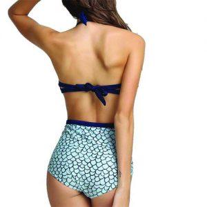 1 piece ladies swimsuit 2