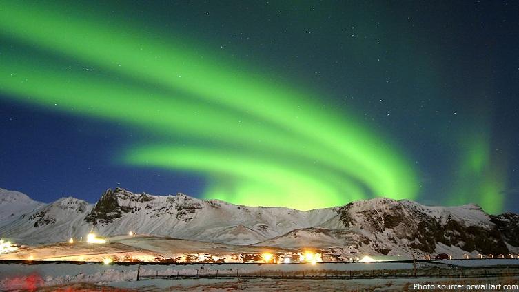 Northern Lights Iceland July