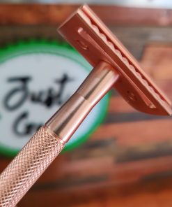 Premium Rose Gold S Women's safety Razor Kit Halifax Uk