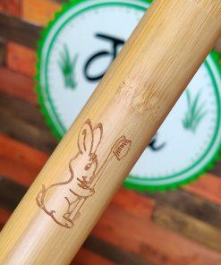 Children's Bamboo Travel Toothbrush Holder