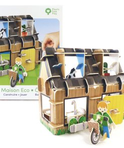 Plastic Free Eco House Playset Example From Playpress