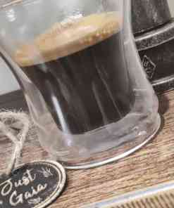 double espresso coffee on collection at Just Gaia halifax. Add to your basket with your order.