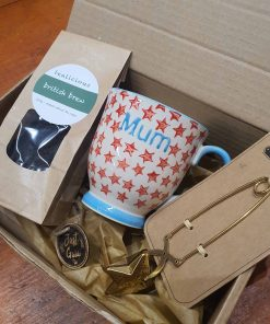 Mum You're a Star pack no chocolates part of the Mum loose leaf tea gift set at Just Gaia