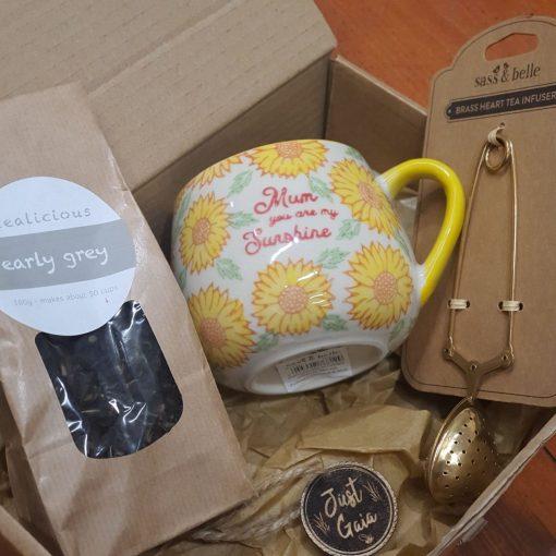 Mum You are my sunshine pack. Part of the mum mug and tea gift set at Just Gaia