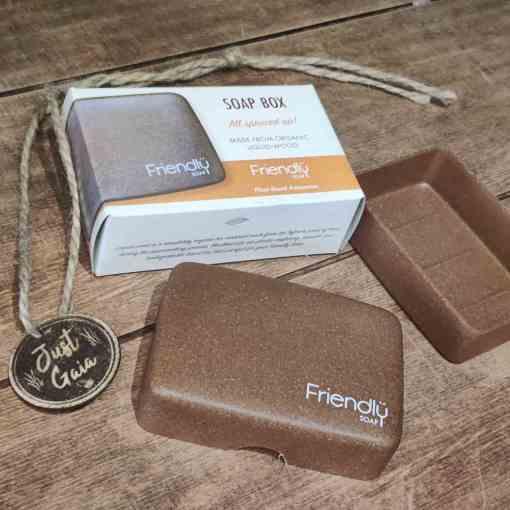 Plastic free soap case