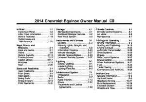 2014 chevrolet equinox Owners Manual | Just Give Me The