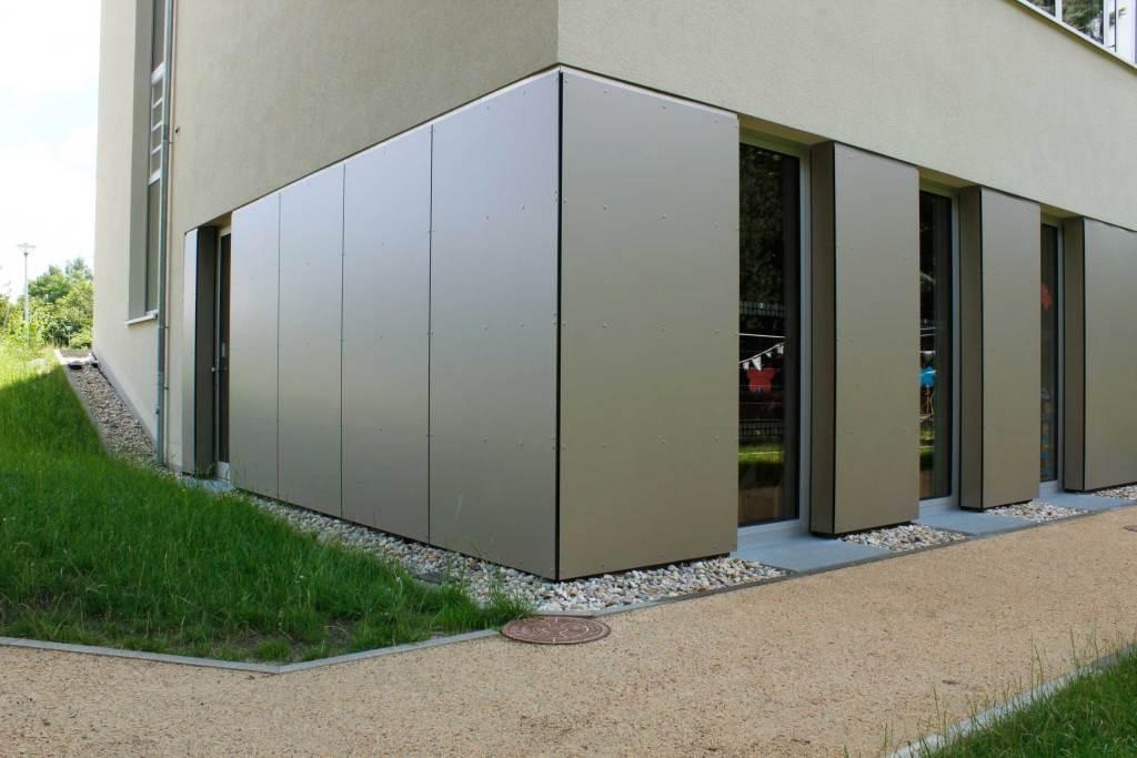 Just Vorhangfassade