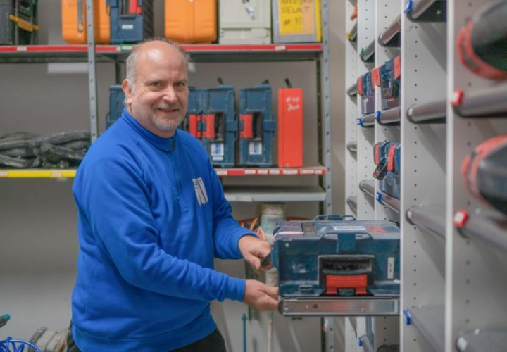 Dietmar Andrä Facility Manager JUST GmbH Zittau
