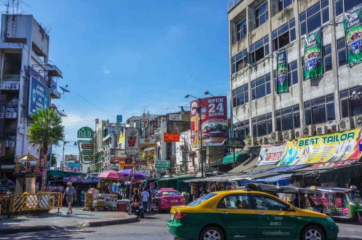 Bangkok Thailand Khao San Road