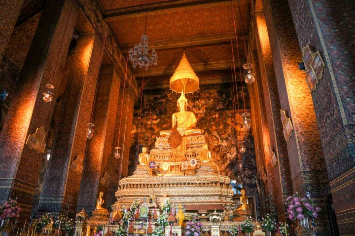 Bangkok Thailand Wat Pho binnenkant