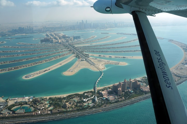 dubai verenigde arabische emiraten watervliegtuig