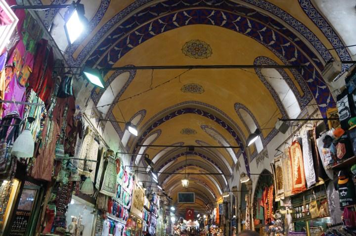 stedentrip Istanbul Turkije grand bazaar