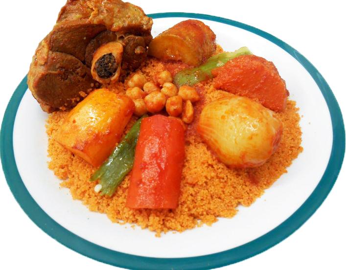 Tunesische gerechten couscous tunesie