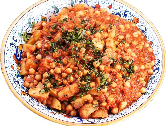 Tunesische gerechten stew