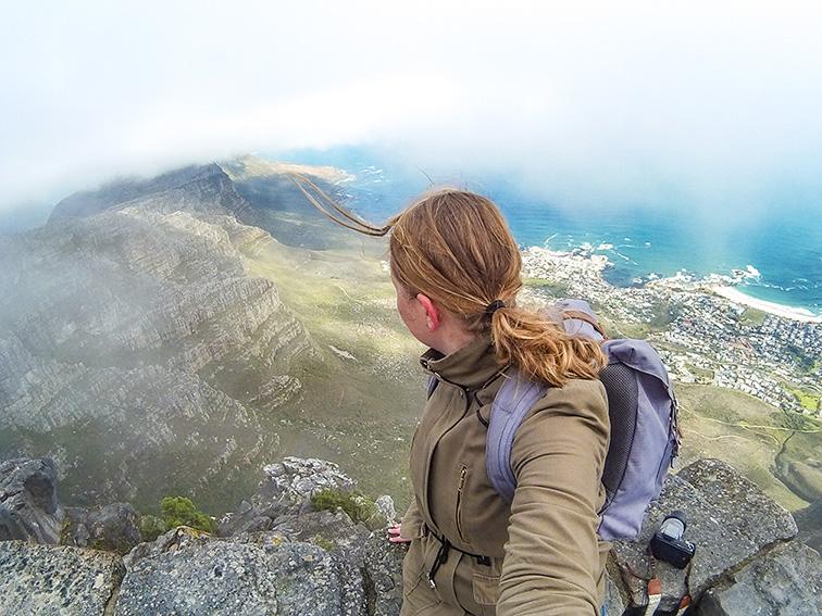 solo reisfoto Kaapstad