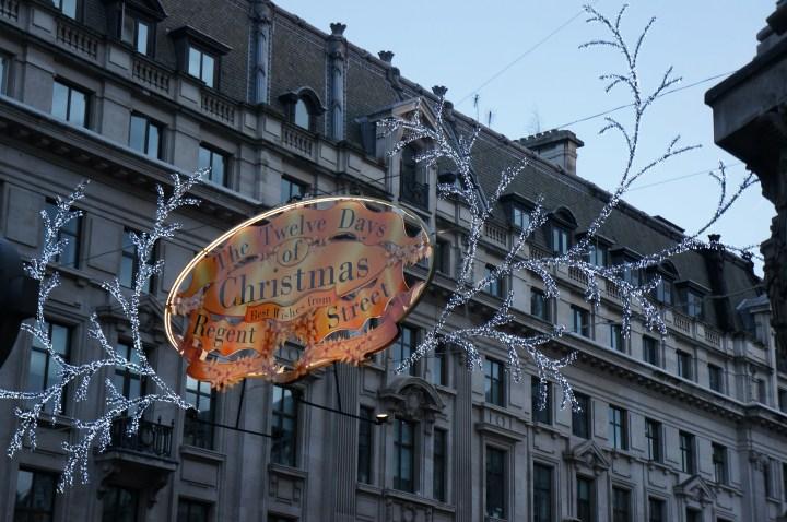 Kerstmarkt in Londen