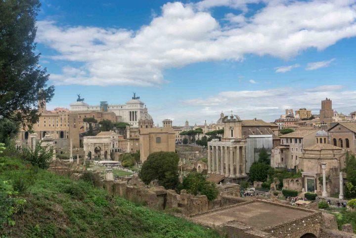 Rome - Italië forum romanum
