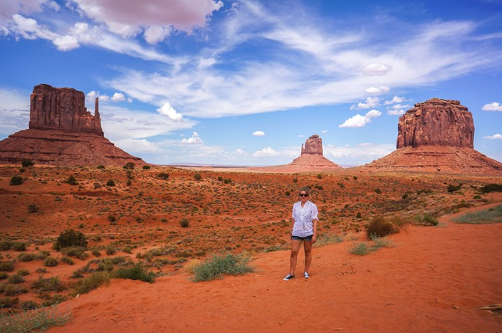 Alleen op reis - soloreizen monument valley