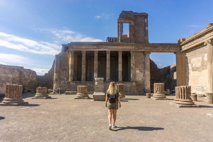 Pompeii overblijfselen