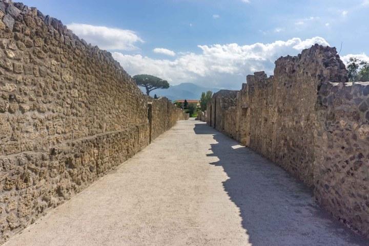 Pompeii straat