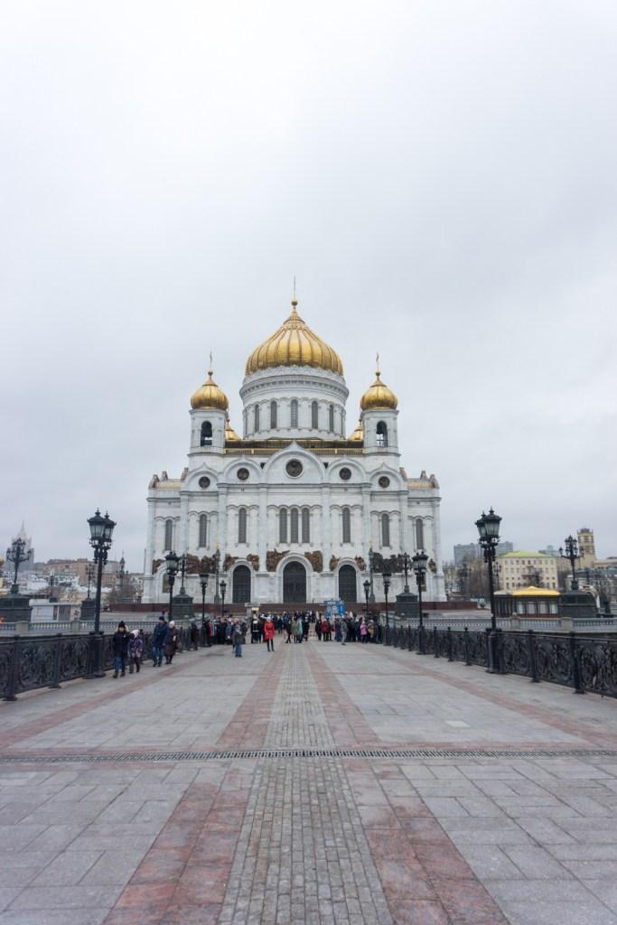 Rusland Moskou christ of the savior
