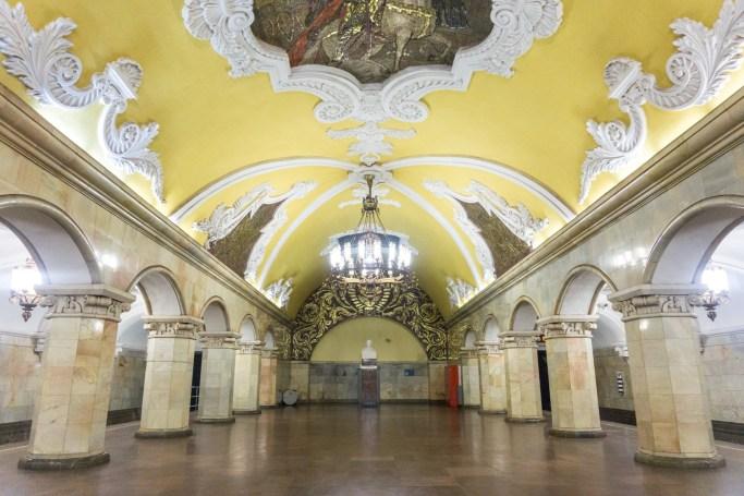 Rusland Moskou metro
