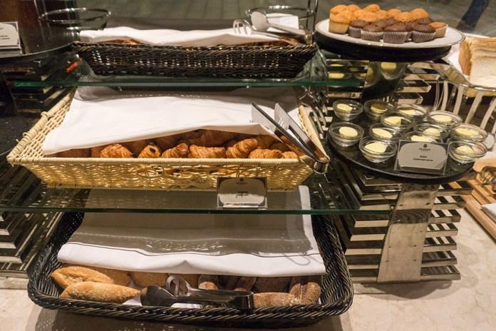 St Regis Moscow breakfast croissants