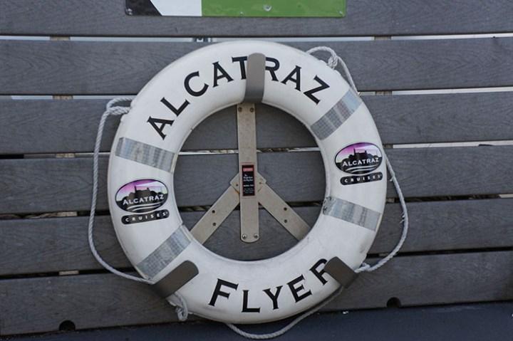 San Francisco boot naar Alcatraz