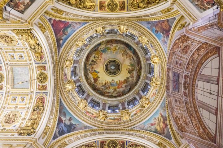 Sint Petersburg - Rusland - St Isaac kathedraal