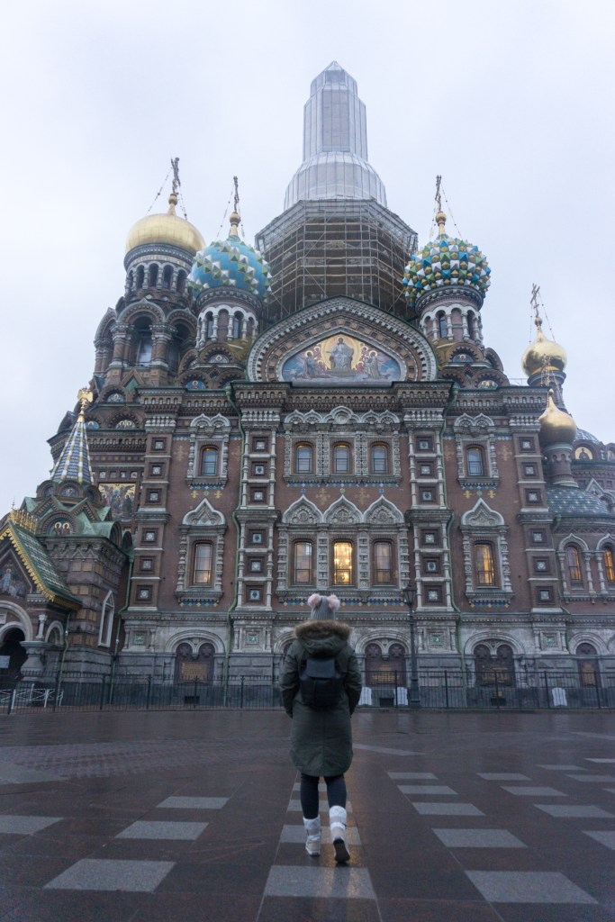 Sint Petersburg church of the savior on spilled blood Rusland