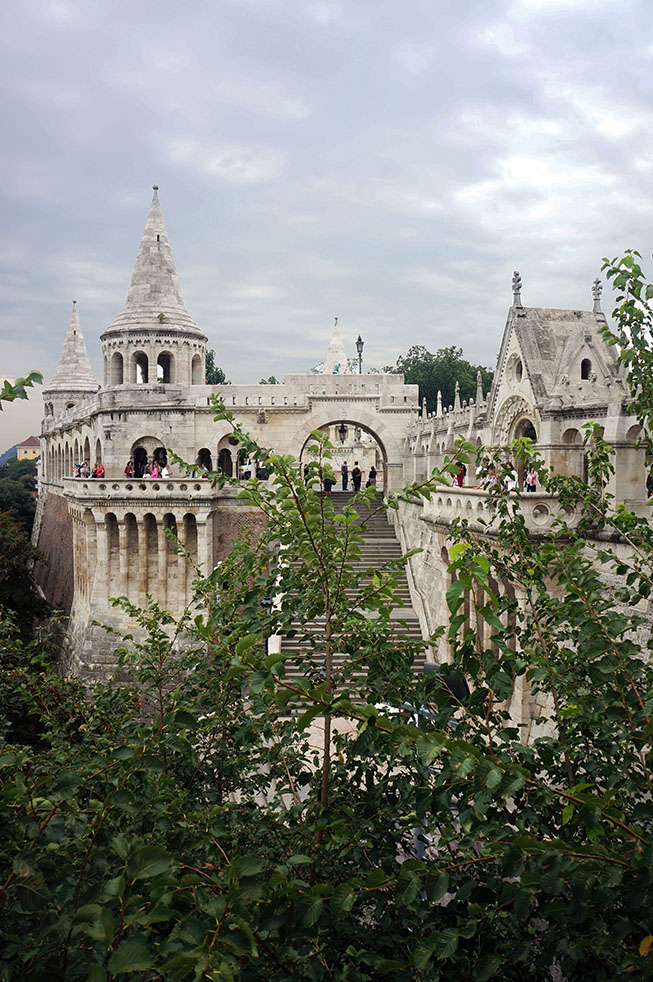 Fishermans bastion Boedapest Hongarije