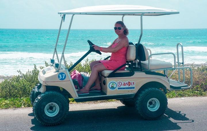 Mexico Isla Mujeres golfkar-2