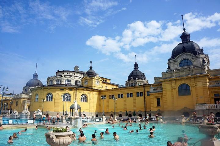 kuuroorden badhuizen Boedapest hongarije