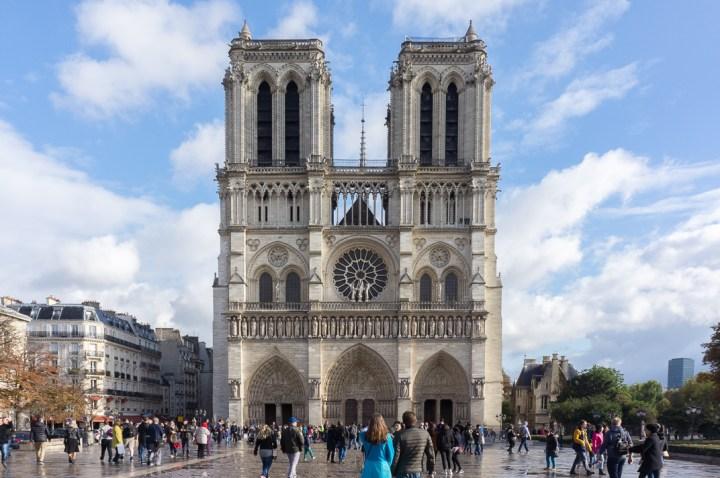 Voorkant Notre Dame