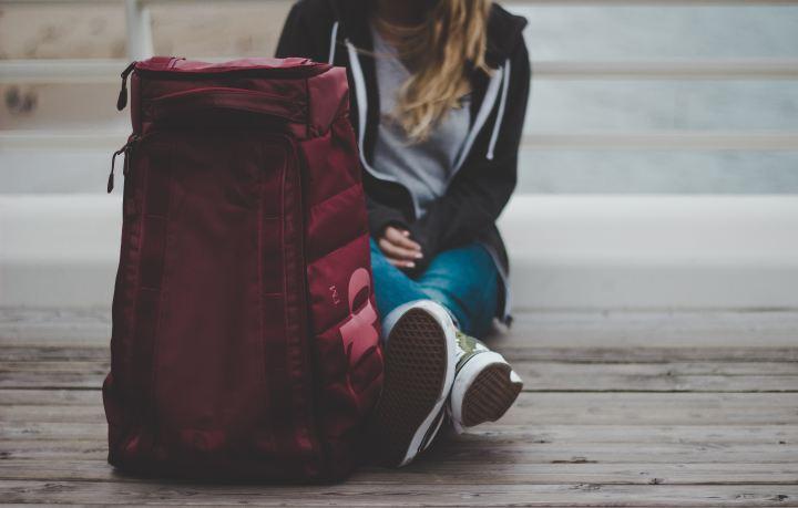 backpack of koffer