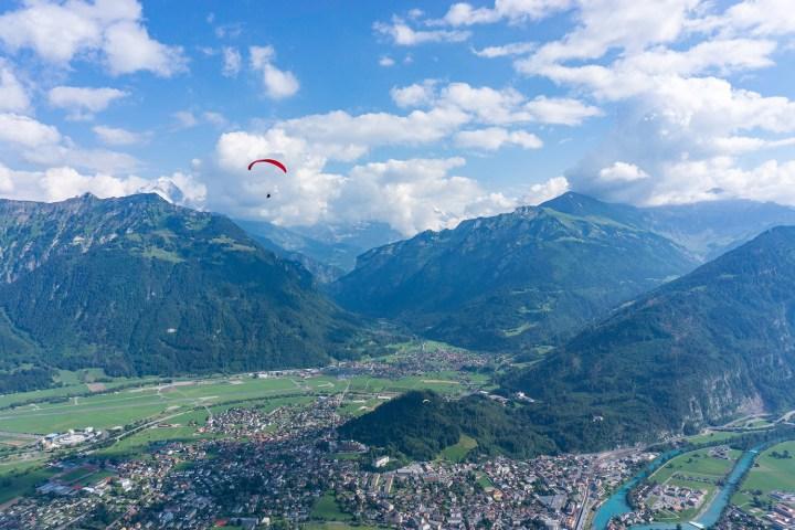 Interlaken-Zwitserland-paragliden