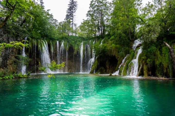 Plitvice-watervallen