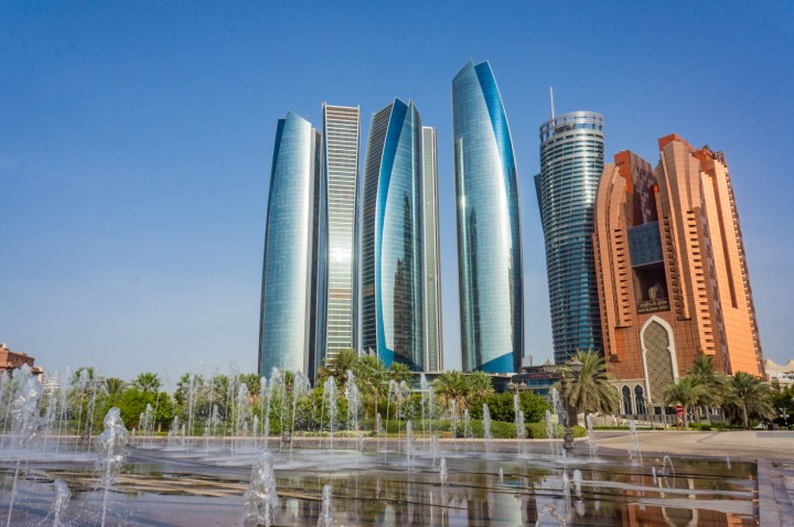 Abu Dhabi towers