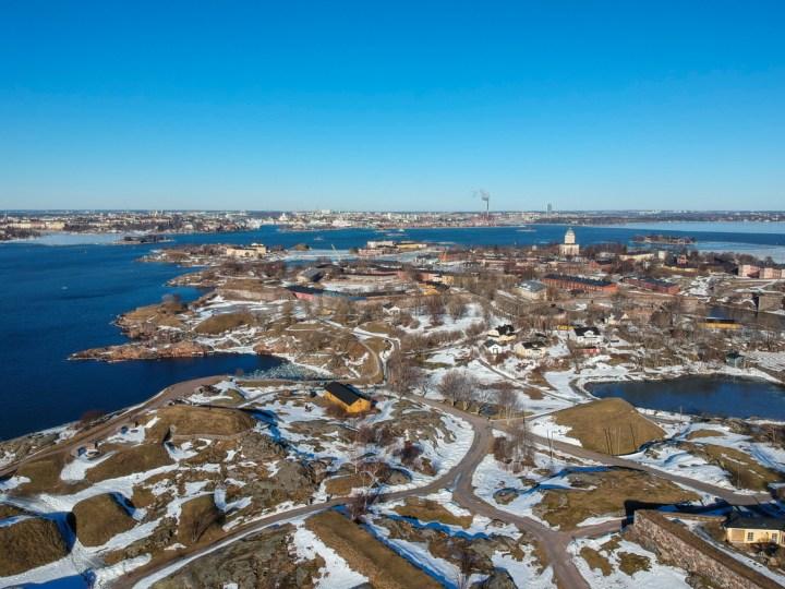 Droneshot Suomenlinna