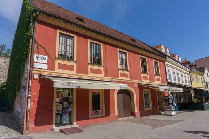 Zagreb straatje