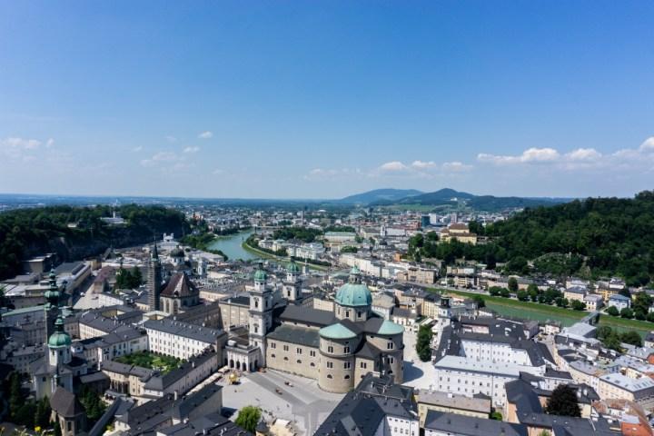 Salzburg in Oostenrijk:  bezienswaardigheden en tips