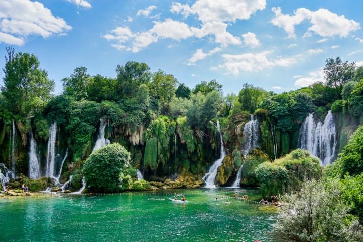 Kravice watervallen