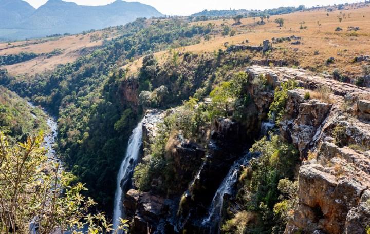Lisbon Falls in Zuid Afrika