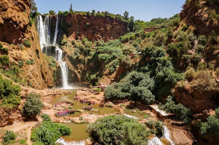 Ouzoud waterval in Marokko
